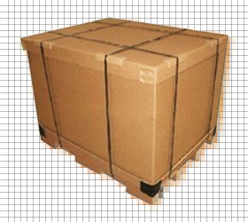 Rigid-Corrugated-Box-With-Corrugated-Pallet